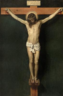 Diego Velázquez. Cristo crucificado, hacia 1632. Museo Nacional del Prado