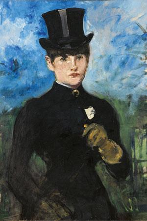Édouard Manet. Amazona de frente, 1882. Museo Nacional Thyssen Bornemisza