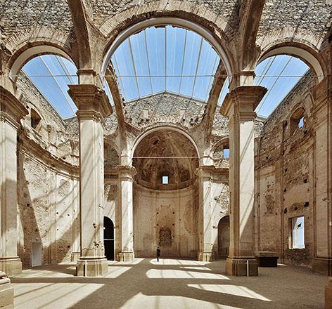 Remodelación Iglesia de Corbera d'Ebre ©José Hevia