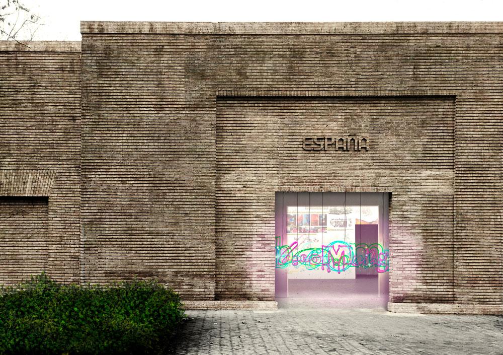 Pabellón español en la Bienal de Arquitectura de Venecia 2018