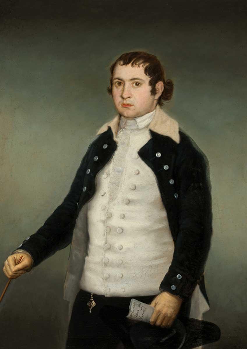 Francisco de Goya. Antonio Adán de Yarza, hacia 1787-1788