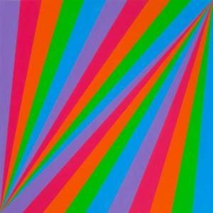 Max Bill. rhythmus in fünf farben, 1985