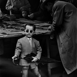 Ramón Masats. Mercado de San Antonio. Barcelona, 1955