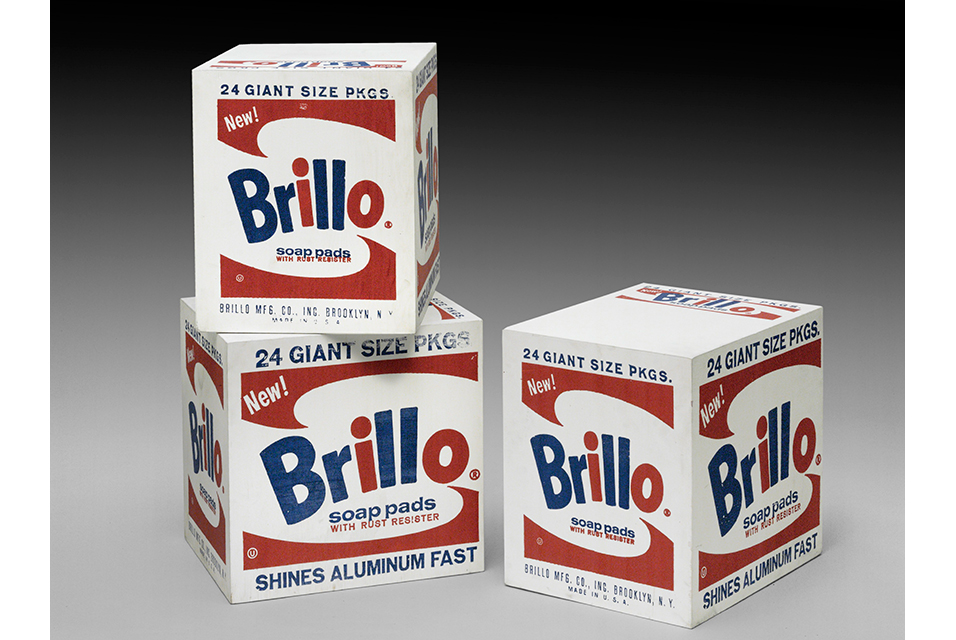 Andy Warhol. Brillo Boxes