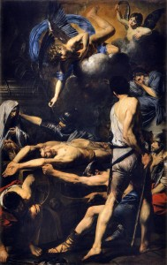 Valentin de Boulogne. Martyrdom of Saint Processus and Saint Martinian, 1629–1630