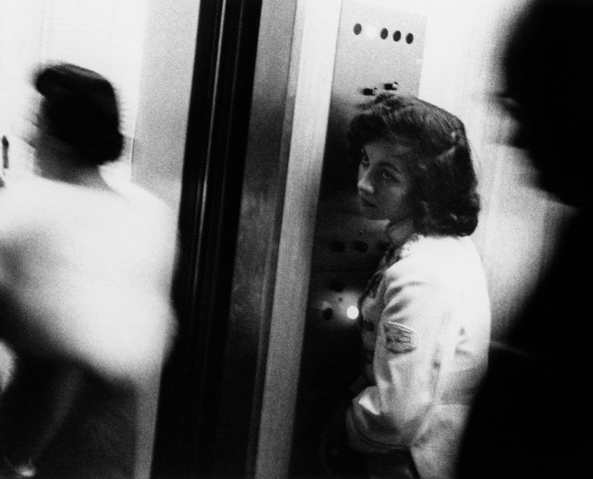 Robert Frank. Elevator. Miami Beach, 1955