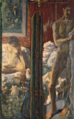 Pierre Bonnard. El hombre y la mujer, 1900. París, Musée d'Orsay © Musée d'Orsay, Dist. Rmn-Grand Palais / Patrice Schmidt