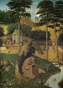 El Bosco. Las tentaciones de san Antonio