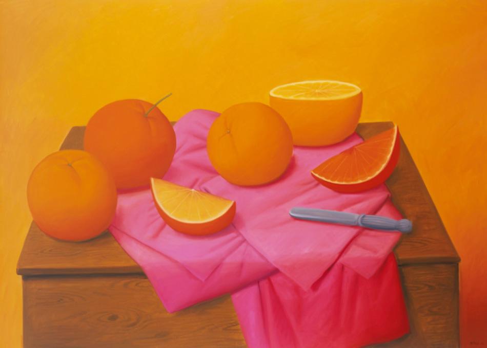 Fernando Botero. Naranjas, 2008
