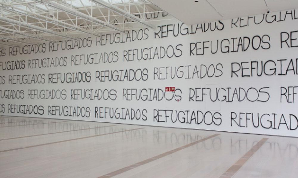 """Martin Creed. """"AMIGOS"""" en el Centro Botín. Fotografía: Belén de Benito"""