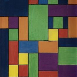 Georges Vantongerloo. Studie I, Brussel, 1920. Mu.Zee, Oostende.