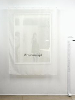 Almudena Lobera. You remain here / Permaneces aquí, 2010-2012