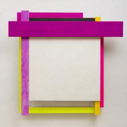 Rosa Brun, vibración en madera y papel