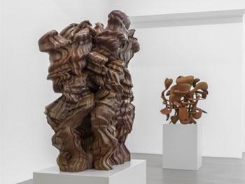 Vista de la exposición de Tony Cragg en la Buchmann Galerie