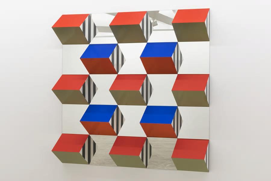 Daniel Buren en la Galería Nara Roesler