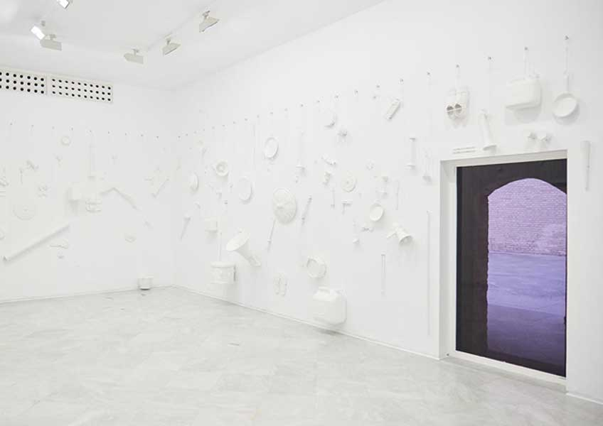Amalia Pica. (Un)heard (room), 2019. Cortesía de la artista y Herald St, London. Producida por el Centro Andaluz de Arte Contemporáneo
