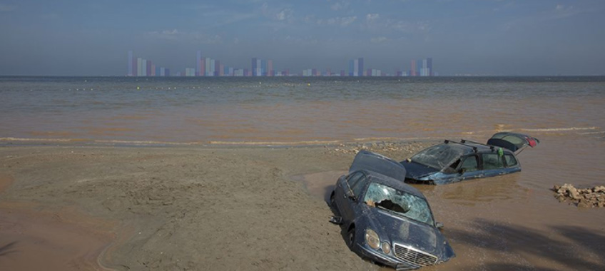 """Eduardo Cortils. """"Un-Steady. n problemas ambientales"""". CAB Burgos, 2020"""