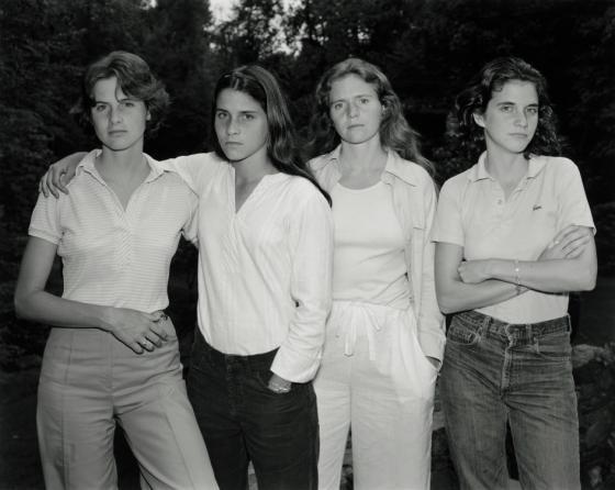 Nicholas Nixon. The Brown Sisters, 1975