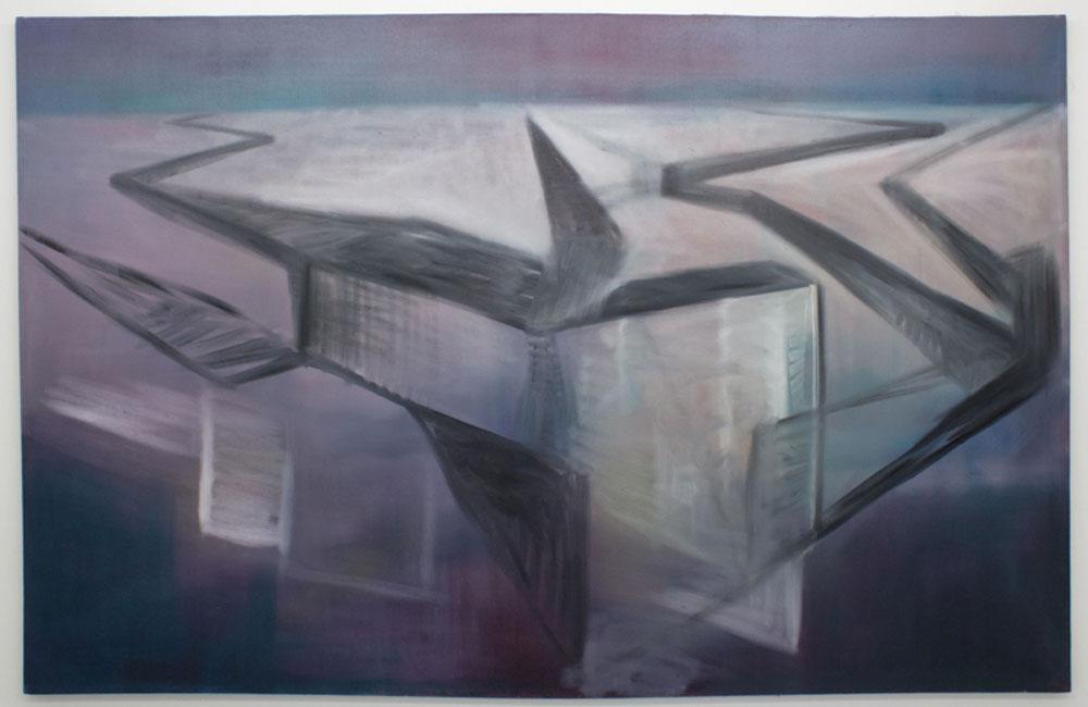 Miriam Cahn. Fugas, 2005. Cortesía de la artista. Galería Meyer Riegger y Galería Jocelyn Wolff