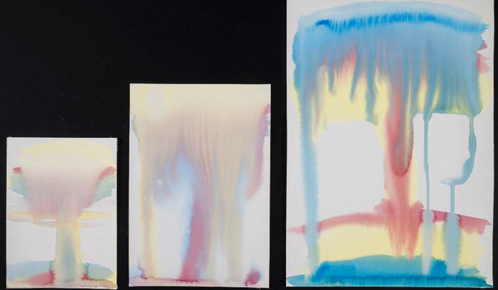 Miriam Cahn, Atombombem (bombas atómicas), 1988. Galería Meyer Riegger y Galería Jocelyn Wolff