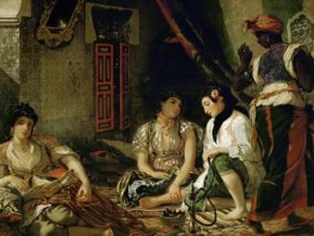 Delacroix. Mujeres de Argel, 1834. Museo del Louvre