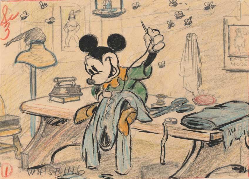 Exposición sobe Disney en CaixaForum