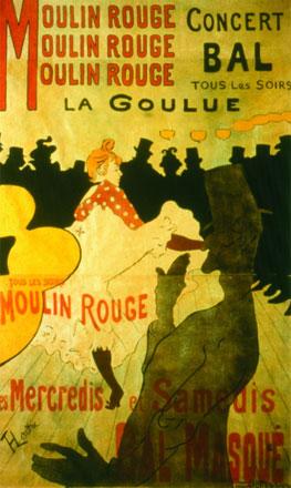 Henri de Toulouse-Lautrec. Moulin Rouge, La Goulue, 1891. Colección particular. Cortesia Galerie Documents, París