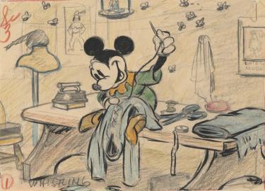 El sastrecillo valiente, 1938. © Disney Enterprises Inc.