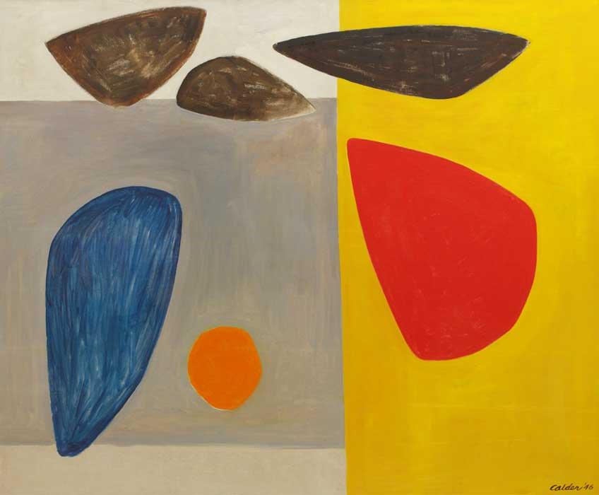 Alexander Calder. Impartial Forms, 1946. © Calder Foundation, New York. Cortesía de Art Resource, New York. Foto: Kerry Ryan McFate © 2019 Calder Foundation, New York/VEGAP, Madrid