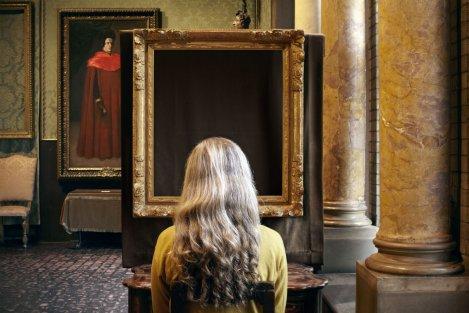 Sophie Calle. Que voyez-vous ? Le concert. Vermeer, 2013 (detalle) © Sophie Calle/ADAGP, Paris, 2015