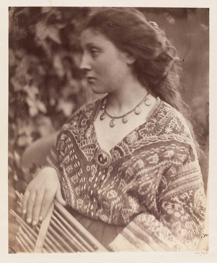 Julia Margaret Cameron. Sappho, 1865