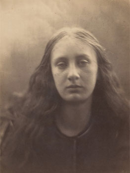 Julia Margaret Cameron. Christabel, 1866