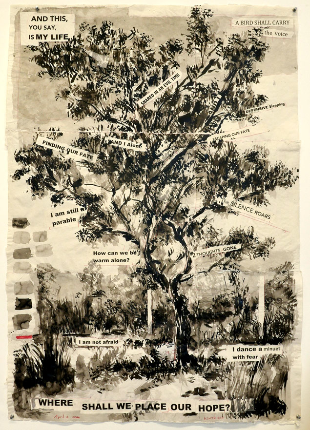 William Kentridge. A Natural History of the Studio (Where Shall We Place our Hope?), 2020. Cortesía del artista