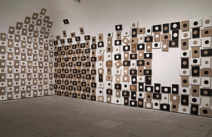 """Miguel Ángel Campano. Vista de sala de la exposición """"D´après"""" en el Museo Reina Sofía. Fotografía: Joaquín Cortés/Román Lores"""
