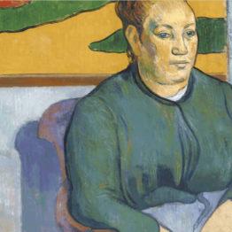 Gauguin también se autorretrataba en otros