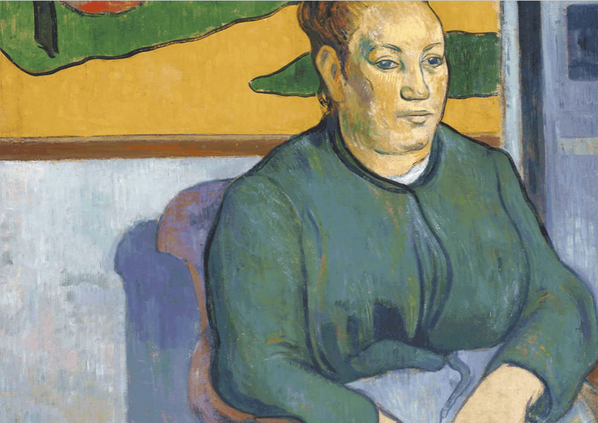 Paul Gauguin. Portrait of Madame Roulin, 1888. Saint Louis Art Museum