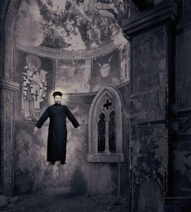 Joan Fontcuberta. Milagros. Milagro de la levitación. © Joan Fontcuberta