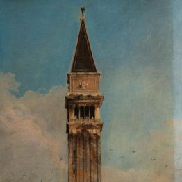 Una de las vistas venecianas de Canaletto, restaurada en el Museo Thyssen gracias al micromecenazgo