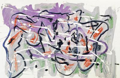 A.R. Penck. Friss und lass mich leben, 1980
