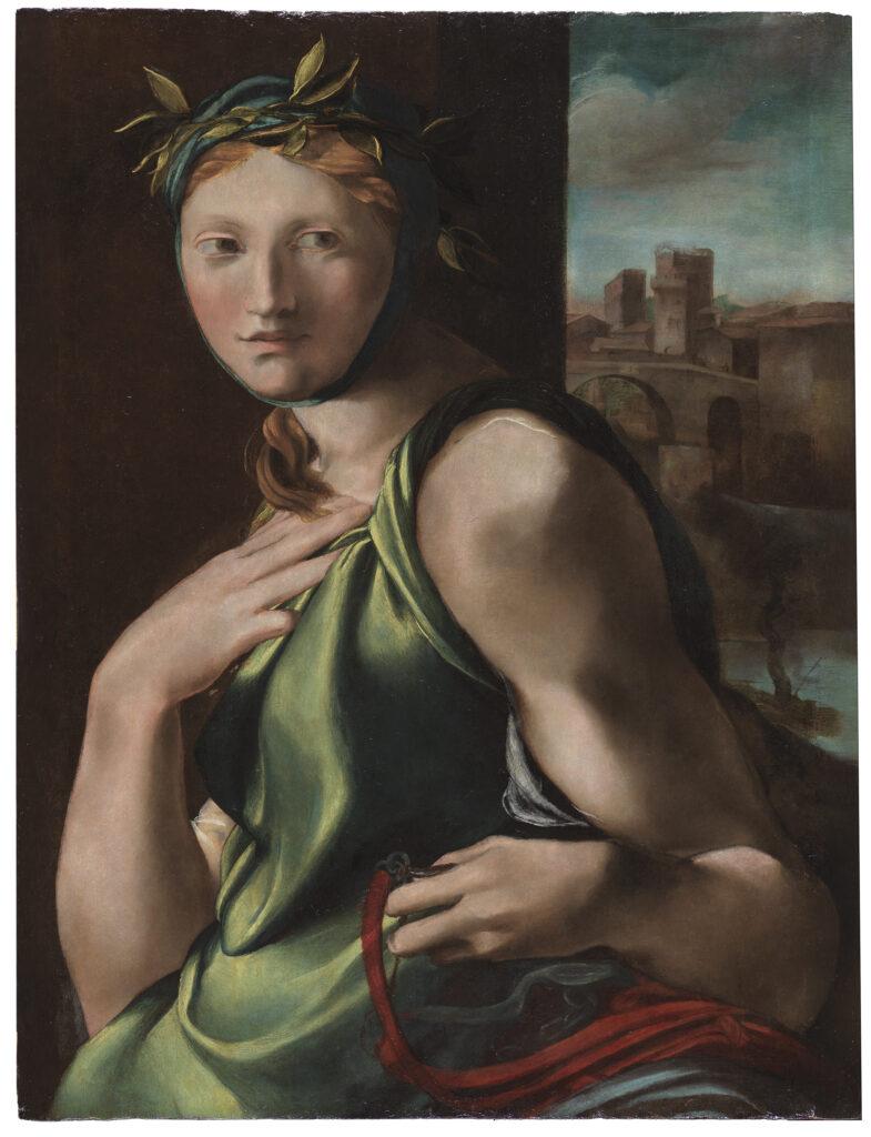 Alonso Berruguete. Alegoría de la Templanza, 1513-1516. Museo Nacional del Prado