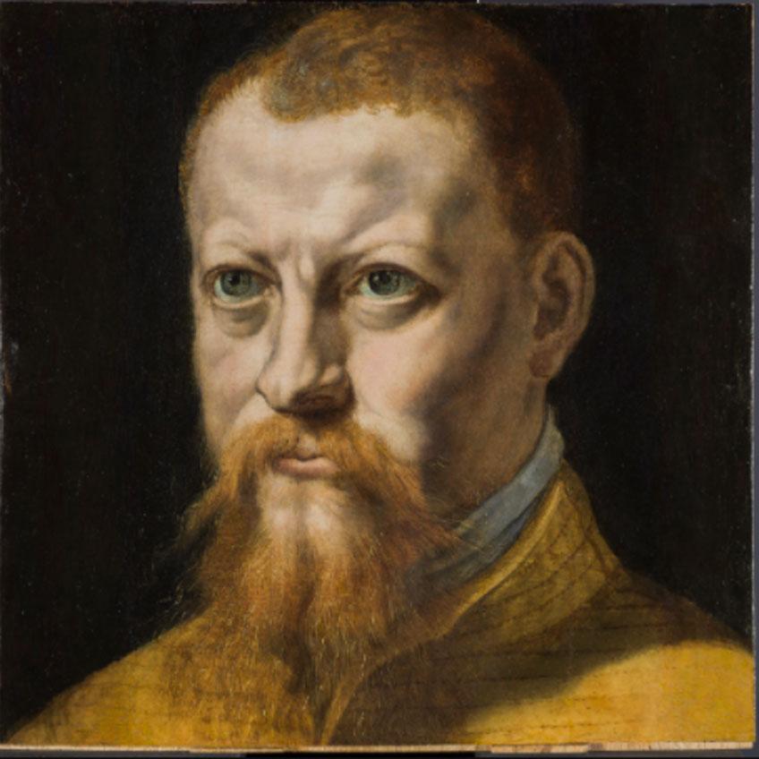 Pedro de Campaña. Autorretrato, hacia 1550. Museo Nacional del Prado