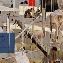 Maurizio Cattelan. SOlomon R. Guggenheim Museum