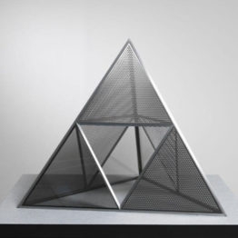 Dan Graham. Shinohara's Pyramid, 2018