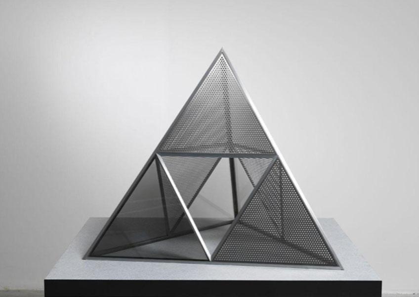 Dan Graham. Shinohara's Pyramid, 2018