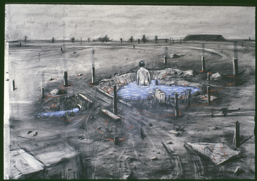 William Kentridge. Felix in Exile, 1994. Cortesía Studio William Kentridge