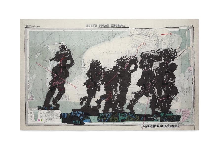 William Kentridge. South Polar Regions, 2016. Cortesía del artista y la Goodman Gallery, Johannesburgo
