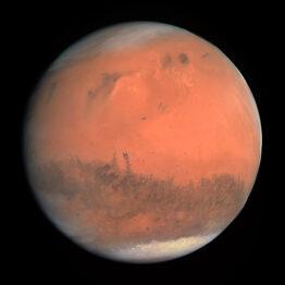 Marte: maneras de mirar el espejo rojo