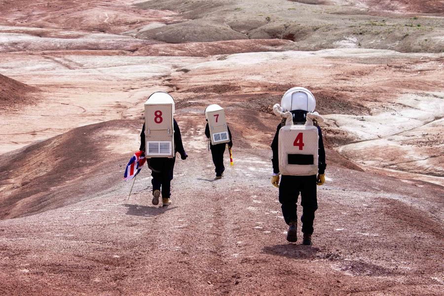 Misión LATAM III realizada en las instalaciones de la Mars Desert Research Station, en Utah (USA), el mayo de 2019. © Mariona Badenes Agustí