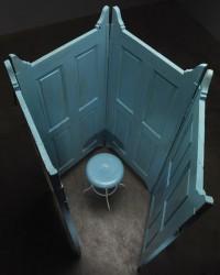 Louise Bourgeois. Celda VI (Cell VI), 1991