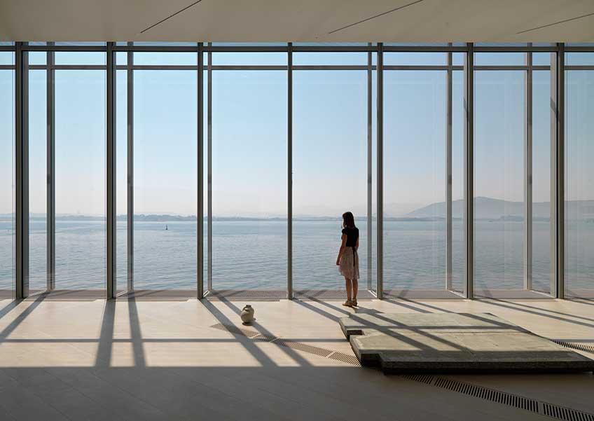 Centro Botín. Sala de exposiciones. Imagen: Enrico Cano